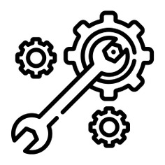 See more icon inspiration related to wrench, construction and tools, home repair, maintenance, improvement, gears, screwdriver, tools and construction on Flaticon.