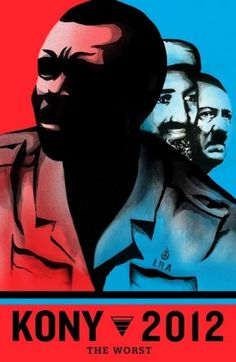 KONY_2012_VISUAL-KONTAKT.jpg (JPEG Image, 417x640 pixels) #political #red #2012 #kony #support #poster #blue