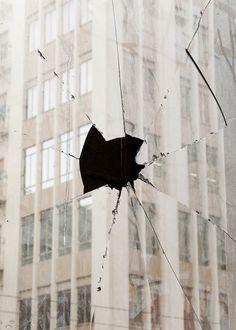 #window #glass #broken #hole