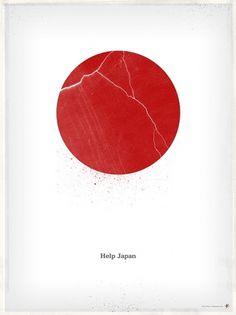 i_helpjapan5.jpg (585×780) #help #japan #poster
