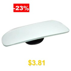 Car #Wide #Angle #Rear #View #Blind #Spot #Mirror #with #360 #Degrees #Adjustment #2pcs #- #TRANSPARENT
