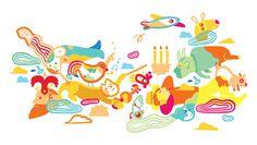 Le plan B de Julien Castanié: DADA #illustration #colorful #child