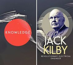 Bernard M. Gordon Tribute / Jack Kilby #large #type #typography