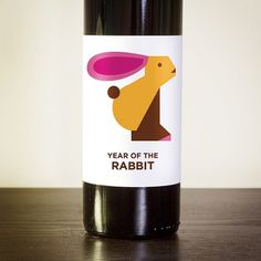 Jag Nagra: Vancouver Graphic Designer and Photographer #zodiac #packaging #wine #chinese #illustration #rabbit