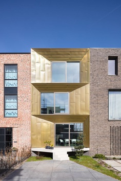 Brass House Amsterdam by MOPET architecten