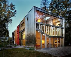 The Barcode Villa by architecture studio MVRDV