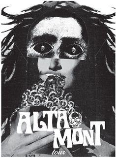 GigPosters.com - Altamont #justin #walsh