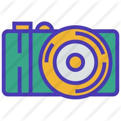 See more icon inspiration related to electronincs, photograph, photo camera, digital, interface, picture, camera and technology on Flaticon.