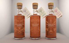 Yggdrasil Norwegian liquid honey packaging