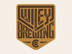 Wiley Brewing Co. by Evan Huwa #graphic design #design #branding #identity