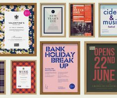 Posters #design #pub #posters #branding