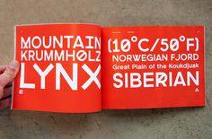 tundra type specimen #specimen #tyepface #design #tundra #type #typography