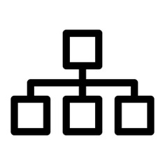 See more icon inspiration related to diagram, order, organization, hierarchy, hierarchical structure, business, interface and organized on Flaticon.