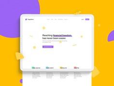 Piggy Bank Website Concept