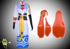 Gintama Movie Forever Yorozuya Kagura Cosplay Costume + Wig #kagura #costume #cosplay