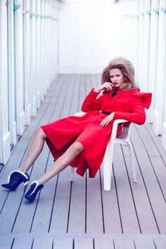 Kristina Romanova by Diego Uchitel #fashion #photography #inspiration