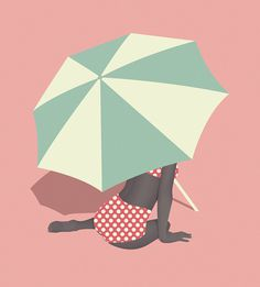 Umbrella final #vector #umbrella #pastel