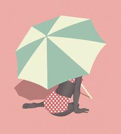 Umbrella final #vector #umbrella #pastel