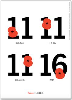 11 11 11 16, Remembrance Day Peace poster. #peace #poster #2016 #remembrance #poppy #poppy day