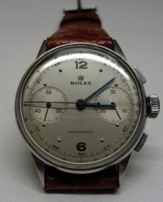 Rolex Chronograph Watch #analog #dial #mechanical #piece #time #watches
