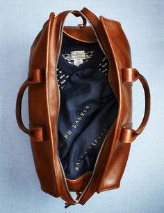 slyAPARTMENT #beautiful #leather #jumper #bag #ralph lauren