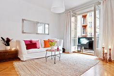 Wonderful Apartment with Amazing Balcony #interior #apartment #design