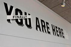 Finally, You Are Here – Works of Designer Colin Dunn #design #branding