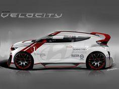 Hyundai Veloster Velocity #tech #amazing #modern #innovation #design #futuristic #gadget #ideas #craft #illustration #industrial #concept #art #cool