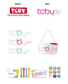 Tcby - TheDieline.com - Package Design Blog