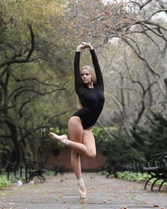 Luc Jean-Baptiste Captures Ballet Dancers on the Streets of New York