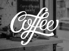 Coffee – Lettering #typography #hand lettering #coffee