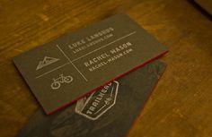 enjoy your ride - rachel mason #stamp #mountain #business #outdoors #card #design #bike #logo