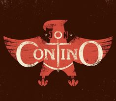 Jon Contino by Erik Marinovich #design #graphic #typography