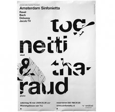 Amsterdam Sinfonietta #type #minimal #poster