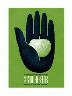GigPosters.com - Love Not Dead - Smithereens - Gyllian Lozano #apple #print #texture #tuffy #screen #poster #lil #hand #green