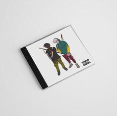 Illustration for Album cover #tshirt #layout #illustration #streetwear #cartoon #CD #album #packaging #anime