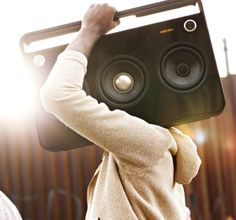 TDK 3 Speaker Boombox Audio System - The Black Workshop #photo
