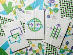 Up Global from Moniker San Francisco #geometry #branding #color #grid #overlay