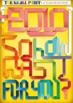 CUSTOM LETTERS, BEST OF 2010, DAY 1 — LetterCult #lettering #year #in #review #brenb #illustration #2010 #type