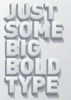 Typographic Poster by Stefano Agabio #design #quality #typography
