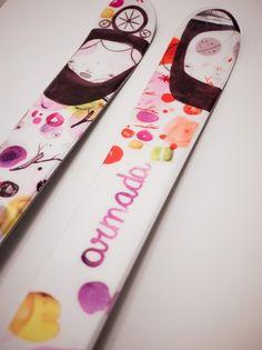 All sizes | Malota for Armada Skis | Flickr - Photo Sharing! #ski #girls #illustration #sport #winter