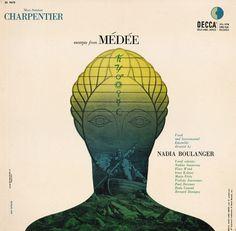 12 Erik Nitsche, Medee (decca, 1953) #album #cover #illustration #art #music