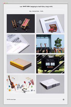James Kape #website #layout #design #web