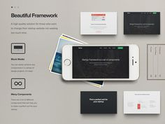 Startup Framework #iphone #web #presentation #project