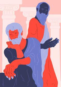 sara andreasson #illustration #colorblock