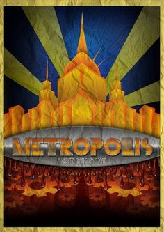 All sizes | Metropolis (1927) Art Deco Poster | Flickr - Photo Sharing! #fritz #retro #metropolis #marcos #grain #poster #deco #torres #lang