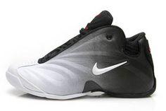 nike flightposite white and black varsity red basketball sneaker men size #shoes