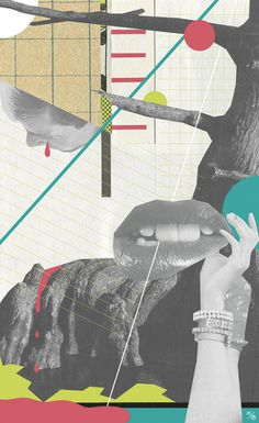 Andrew McGranahan | PICDIT #design #art #collage #painting