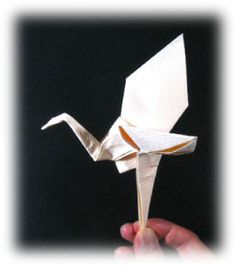 How to make a flying origami crane II (http://www.origami-make.org/howto-origami-crane.php)