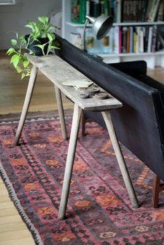 The Design Chaser: Interior Styling | Vintage Benchseats #interior design #decoration #decor #deco